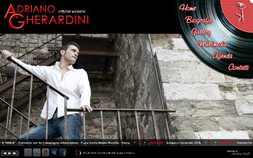 Adriano Gherardini Official WebSite